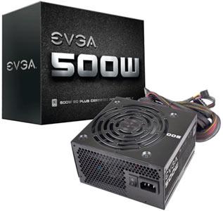 Fuente de alimentación EVGA 500w