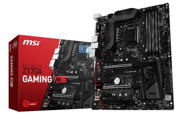MSI Z170A Gaming M6 2