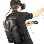MSI VR One, mochila de realidad virtual.