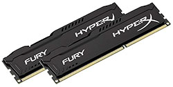 Memoria RAM Gamer Kingston HyperX Fury DDR3