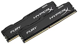 Memoria RAM gamer Kingston HyperX Fury