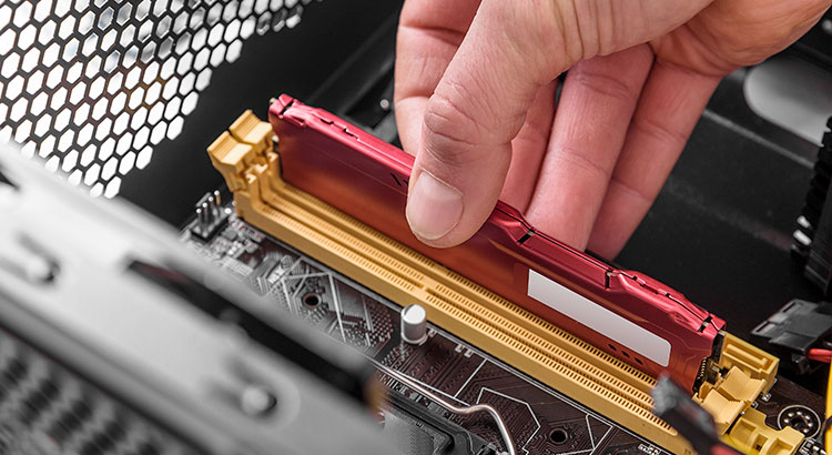 Módulo de memoria RAM gamer