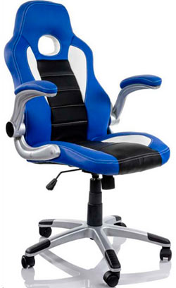 Silla gaming Racing Sport Azul