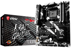 Placa base AM4 MSI X370 Krait Gaming