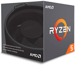 CPU gamer Ryzen 5 1400