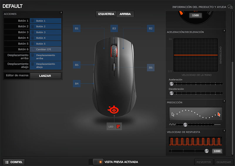 Software SteelSeries Engine 3.