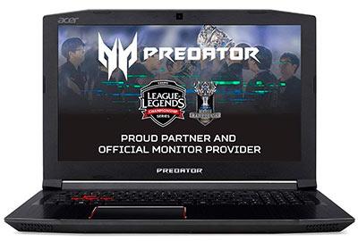 Portátil gaming Acer Predator Helios 300
