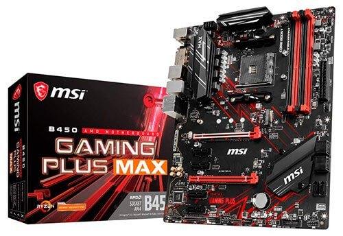 Placa base MSI B450 Gaming Plus MAX.