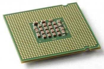 Procesador con socket LGA 775.