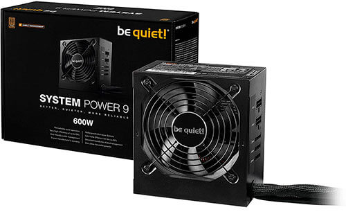 Fuente de alimentación be quiet! System Power 9