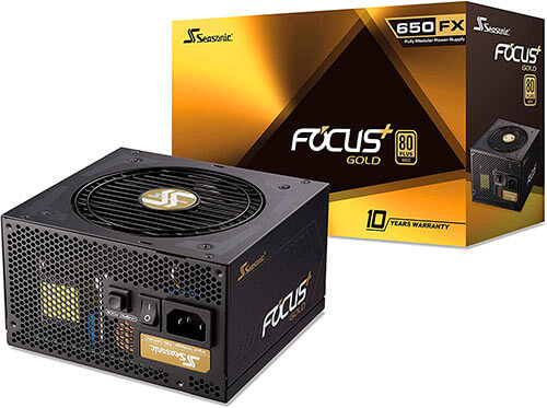 Fuente de alimentación Seasonic Focus Gold FX650.