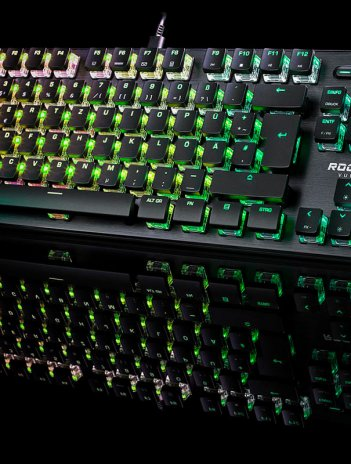Review del teclado Roccat Vulcan TKL Pro.